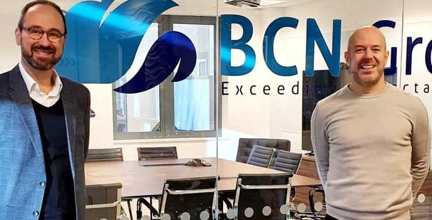 Simon Kelf CEO BCN Group and Simon Heyes CEO Xicon Cloud