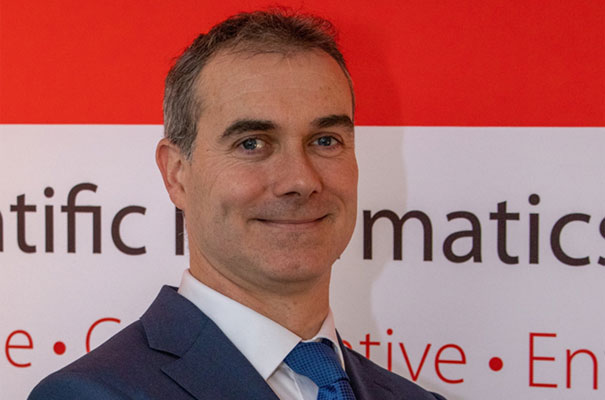 Dr Steve Gallaghe, Co-founder and CEO Dotmatics
