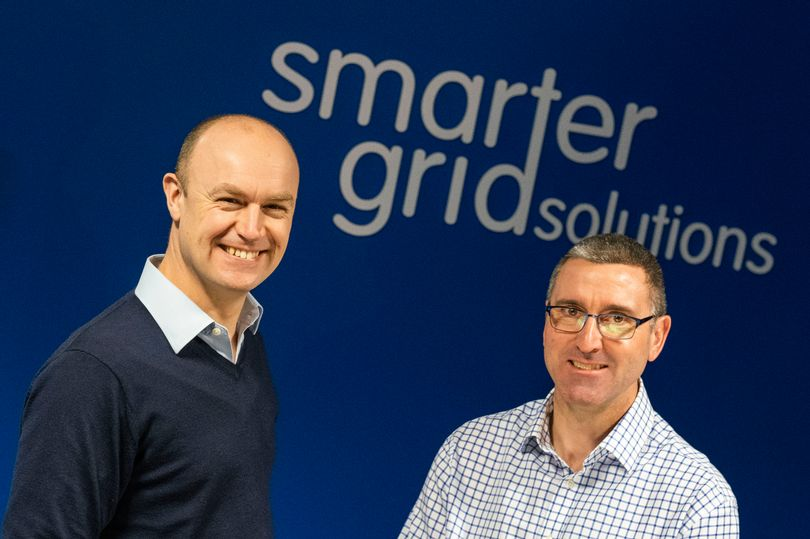 Alan Gooding and Graham Ault Co-founders of Smarter Grid Solutions